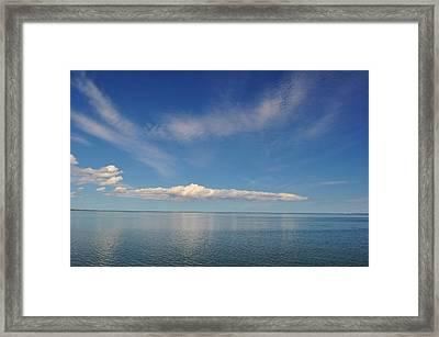 Clouds Of Prince Edward Framed Print by Jeff Moose