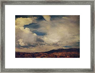 Clouds Please Carry Me Away Framed Print by Laurie Search