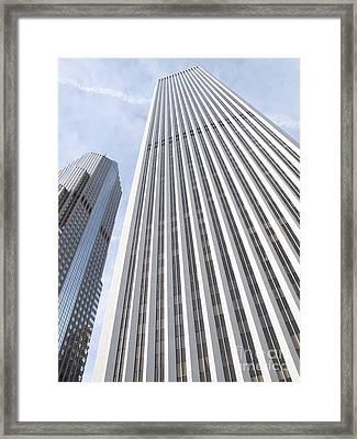 Cloudscraper Framed Print by Ann Horn