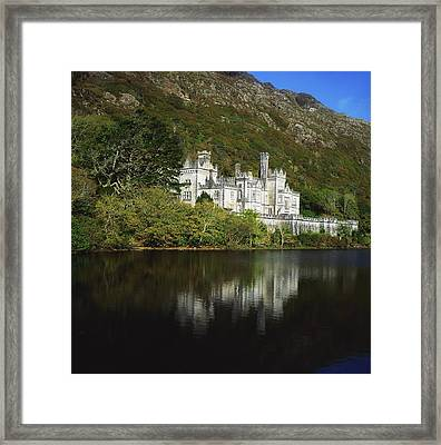 Co Galway, Kylemore Abbey Framed Print by The Irish Image Collection