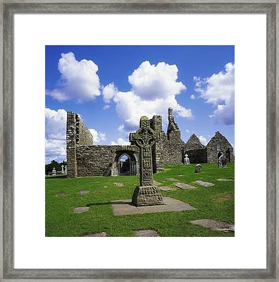 Co Offaly, Clonmacnoise Framed Print by The Irish Image Collection