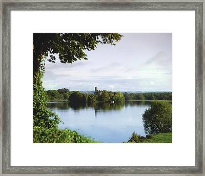 Co Roscommon, Lough Key Framed Print by The Irish Image Collection