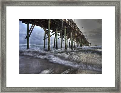 Coastal Echos  Framed Print by Betsy Knapp