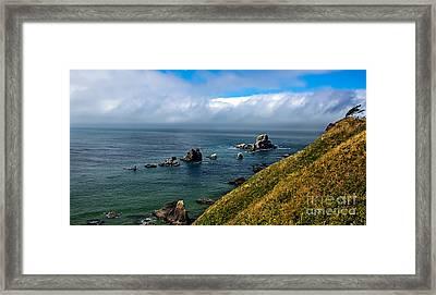 Coastal Look Framed Print by Robert Bales