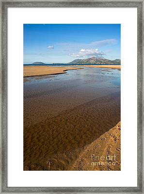 Coastal View Ireland Framed Print by Andrew  Michael