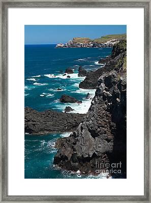 Coastline Framed Print by Gaspar Avila