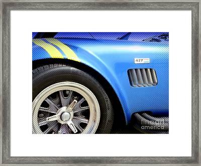 Cobra Classic Framed Print by Karyn Robinson