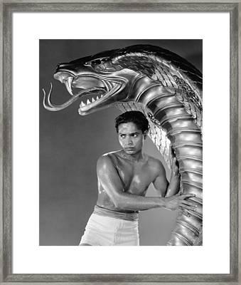 Cobra Woman, Sabu, 1944 Framed Print by Everett
