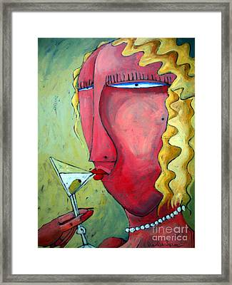 Cocktail Hour Framed Print by Charlie Spear