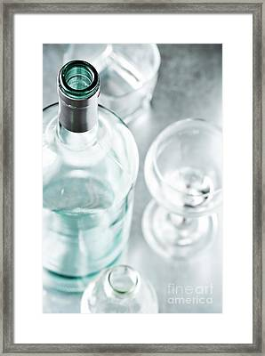 Cocktails Framed Print by HD Connelly
