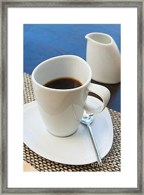 Coffee Sir Framed Print by Atiketta Sangasaeng