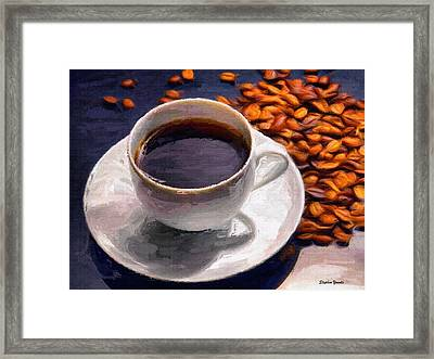 Coffee Framed Print by Stephen Younts