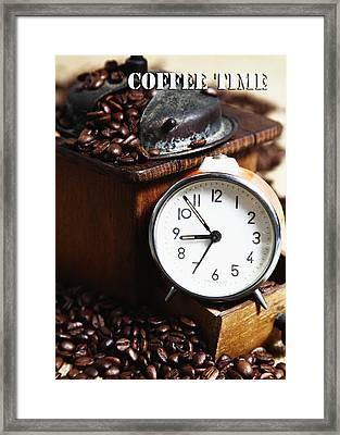 Coffee Time Framed Print by Falko Follert