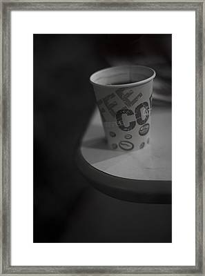 Coffee To Go Framed Print by Tal Richter