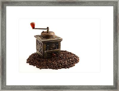 Coffee Framed Print by Tom Gowanlock