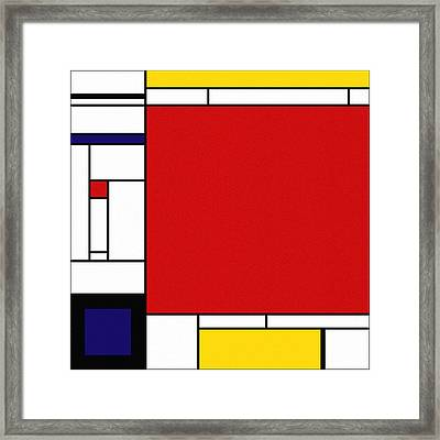 Cognition 2 Framed Print by Richard Rizzo