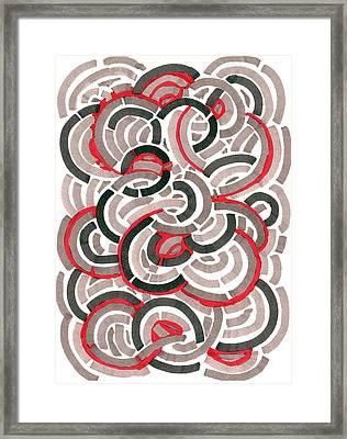 Coils Framed Print by Jason Messinger