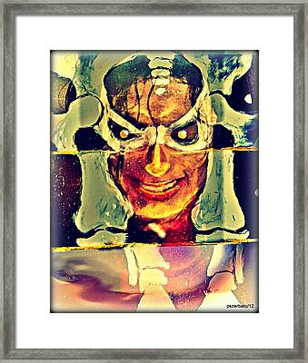 Coincidentia Oppositorum Framed Print by Paulo Zerbato