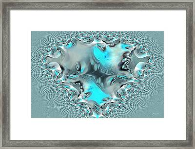 Cold Hearted Framed Print by Maria Urso