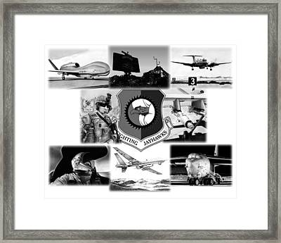 Collage Framed Print by Lyle Brown