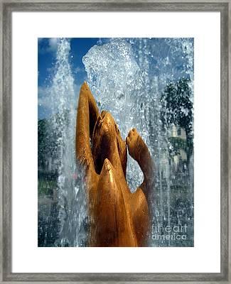 Collage  Sur Framed Print by Yury Bashkin