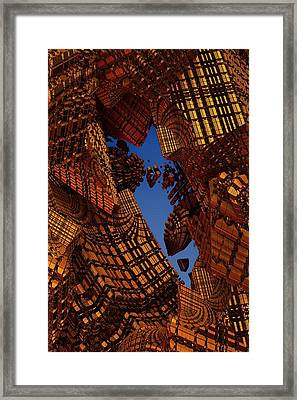 Collapse Framed Print by Lyle Hatch