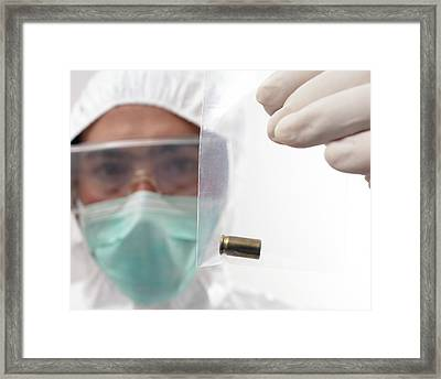 Collecting Evidence Framed Print by Mauro Fermariello