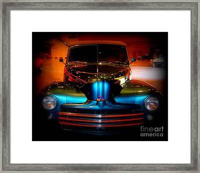 Collector Car Framed Print by Susanne Van Hulst