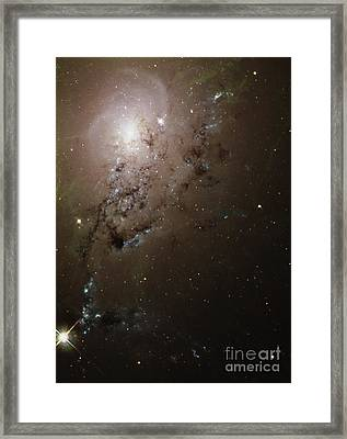 Colliding Galaxies Ngc 1275, Hubble Framed Print by Space Telescope Science Institute NASA