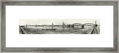 Cologne - Germany - C. 1921 Framed Print by International  Images