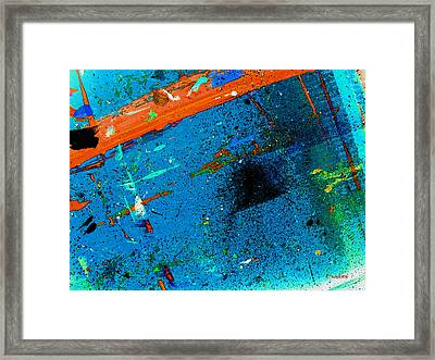 Color Alkeme Framed Print by Charles Yates