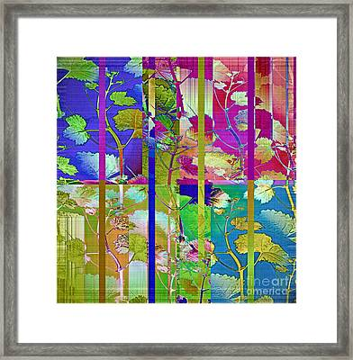 Color Blind Framed Print by Gwyn Newcombe