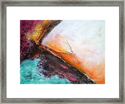 Color Energy Framed Print by VIAINA Visual Artist