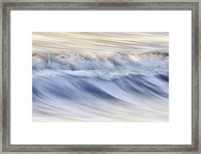Color Wave IIi Framed Print by Rob Travis