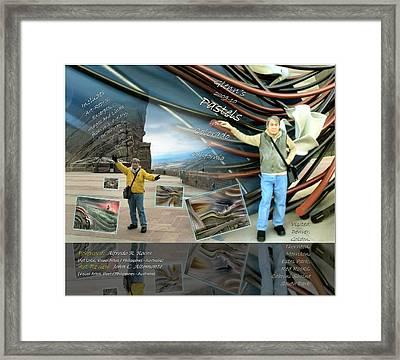 Colorado-california Art Book Cover Framed Print by Glenn Bautista