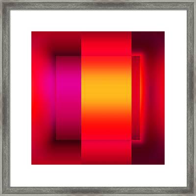 Colors 2.2 Framed Print by Li   van Saathoff