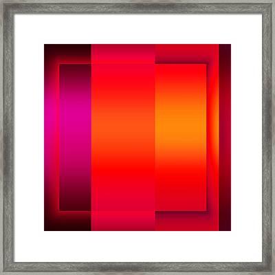 Colors 2.3 Framed Print by Li   van Saathoff