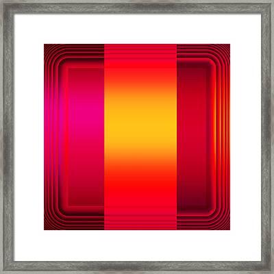 Colors 2.5 Framed Print by Li   van Saathoff