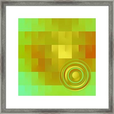 Colors 3.5 Framed Print by Li   van Saathoff