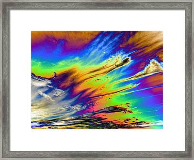 Colors Framed Print by Kathleen Nash