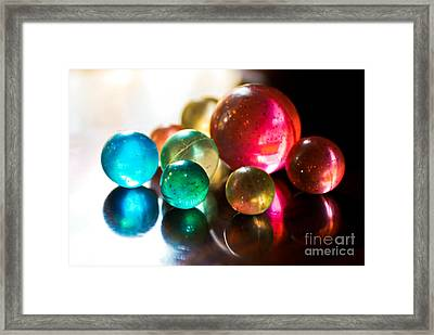 Colors Of Life Framed Print by Syed Aqueel