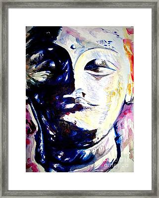 Colour Study Framed Print by Nishit Dey