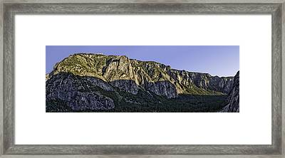 Columbia Rock Outlook Framed Print by Nathaniel Kolby