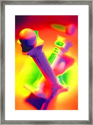 Columns  Framed Print by Mauro Celotti