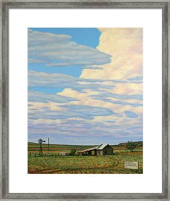 Come In Framed Print by James W Johnson