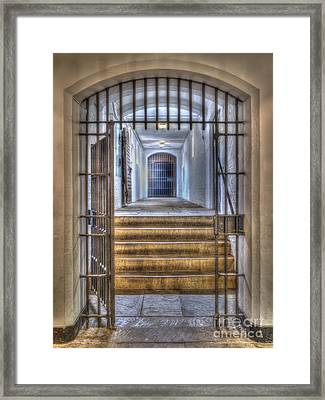 Come On In Framed Print by Steev Stamford