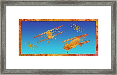 Coming And Going Framed Print by Jenny Armitage