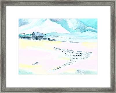 Coming Home Framed Print by Anil Nene