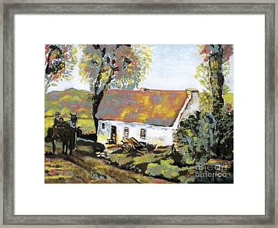 Coming Home Framed Print by Laurel  Anderson-McCallum