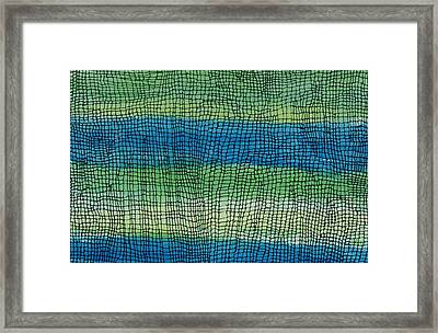 Coming Together Framed Print by Lesa Weller
